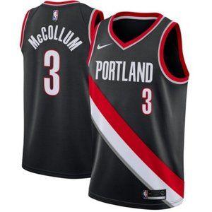 Men's Portland Trail Blazers C.J. McCollum Jersey0